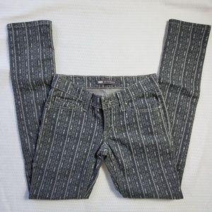 Levi's 524 Super Low Arrow Print Skinny Jeans